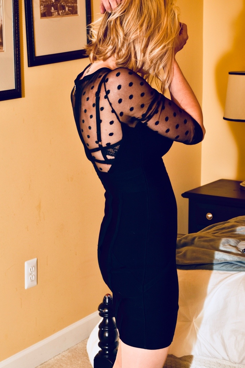 FunHotWife training for her date nights :)