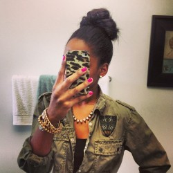 It's Monday Bunday. #fashion #jewelry #militaryinspired