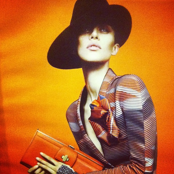 """Orange is the happiest color."" -Frank Sinatra #fashion #photography"