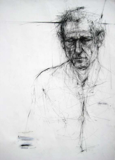 Featured Artist : Ginny Grayson - Stuart, 2007charcoal on paper