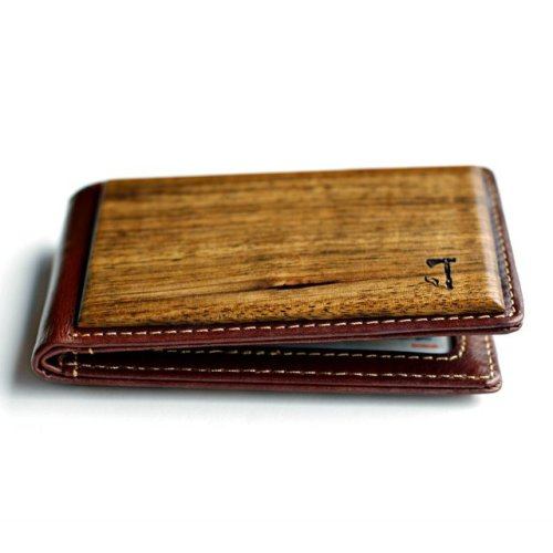 Zebrawood Bifold Wallet By Slim Timber