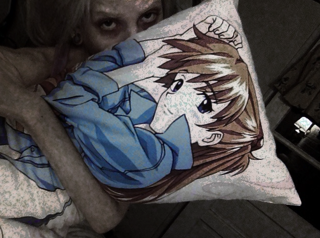 Asuka body pillow remains the first thing ever purchased from a con. No regrets.