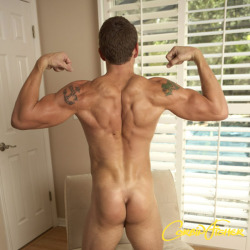 Clenched muscle-butt award of the day :)