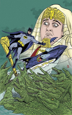 Batman '66 #2 // Mike Allred  Holy Crocodiles Batman!