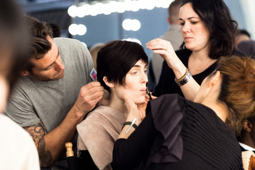 NYFW has started. Photographs from Rachel Comey FW13 backstage tonight are up on Cityist.com XX