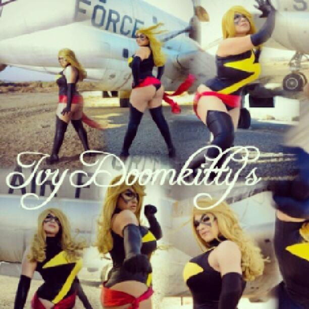 ivydoomkitty:  So… many… Doomkitties XD #ivydoomkitty #msmarvel #cosplay #marvelcomics #comicbook #frankcho #caroldanvers #warbird  You can never have too many