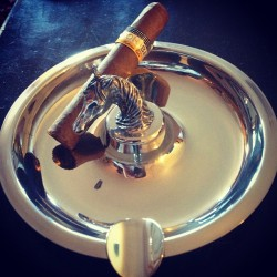Coming soon #sirjacks thoroughbred pewter #cigar ashtray #horses #cohiba #robusto #cigaraficianado #cigars