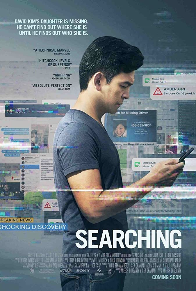 """Films I've Watched in 2020 (216/?) Searching (2018) dir. Aneesh Chaganty    """"I didn't know her. I didn't know my daughter."""" #john cho#debra messing#aneesh chaganty#searching #films ive watched in 2020 #2010s#2018"""