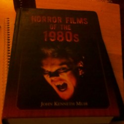 My all time favorite book. #horror #slasher #80s #horrormovies