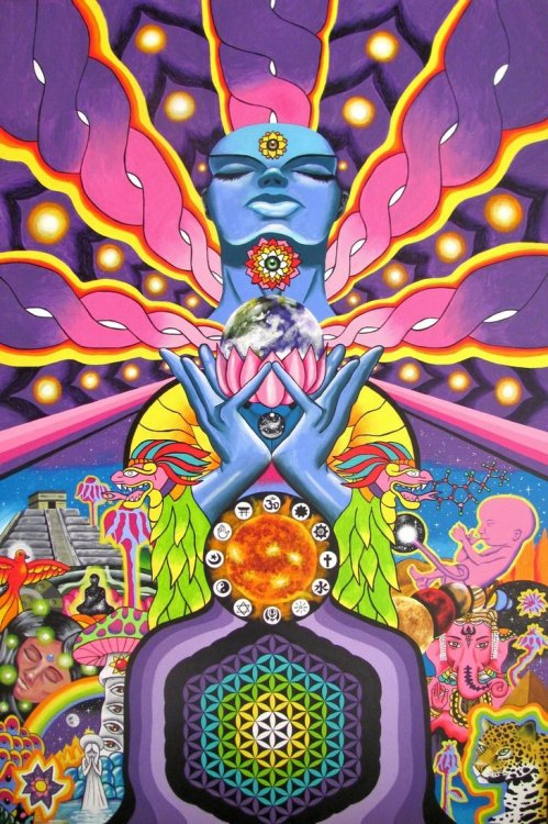 psychedelic-trips:  Visions Of The New Humanityby ~GerardoGomez