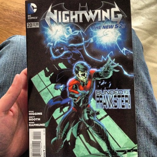 Still digging the #nightwing. #dccomics #comicbooks #comics #comicbookcrusader #book #batman #new52
