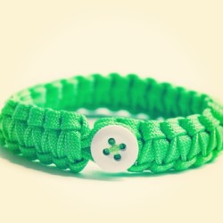 Happy #EarthDay! To celebrate, we're wearing the #Neon #Green Peace Cord! #ethicalfashion