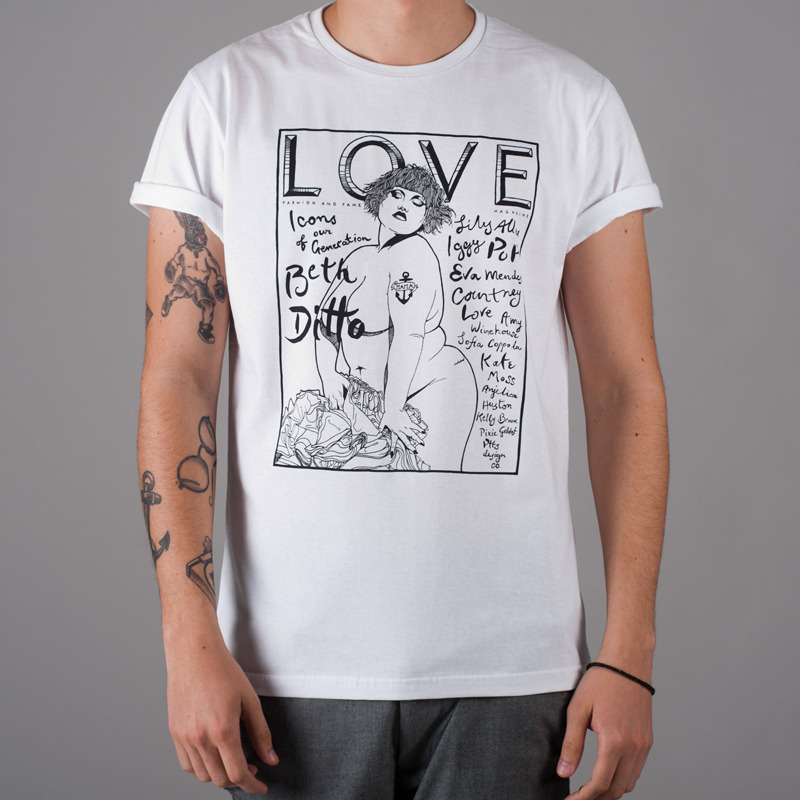 awesome hand drawn t-shirts!:)