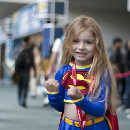 Supergirl Photographed by Nathan Rupert