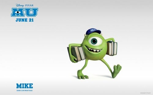 Monsters University wallpaper on MoviePictureDB.com on We Heart It. http://weheartit.com/entry/60079251/via/Soundofmyheart