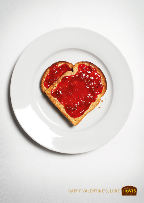 yoannmichaux:  Happy Valentine's, Love. Hovis Ad by JWT