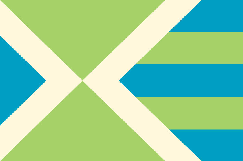 "A new flag for Milwaukee I like it. Perhaps if it was called something like the ""Milwaukee Civic Flag"" we could avoid the political and bureaurcratic hurdles of replacing the City's official – and horrendous – flag. And why not position the new flag as a Greater Milwaukee icon? Milwaukee County and surrounding municipalities could fly the civic flag as well.  For more on flags and civc iconography see the Urbanophile's excellent post on Chicago's flag. milwaukier-than-thou:  just in time for 4/14 day, a group's designed a new flag for milwaukee. according to them:  DESIGN DIRECTION A few traits have long established Milwaukee as the city it is- our great lake and cream city brick. Not only is the lake a strong geographical feature, but it continues to serve as a source of cutting edge research in the city. And cream city brick can be found in many beautiful old buildings, a distinct architectural feature for Milwaukee. Today we are also moving forward in many aspects of sustainability, notably as leaders in urban farming. The colors we have chosen represent each of these strong characteristics.  Unlike the current flag, we have chosen not to limit our city to icons. The triangular shapes represent movement and growth, which is a constant for the city. The stripes give reference to water as well as agriculture, something that relates us to our state as well. As we continue to grow and innovate, we come together as a community, represented by the intersecting point in the flag. thoughts?"