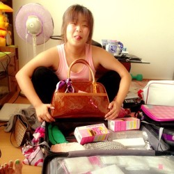 Ayos2 din pg ready na :)) #luggage #ph #lv #hagard
