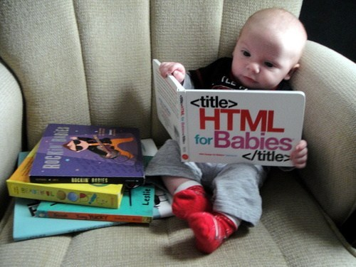 HTML is the new ABC.