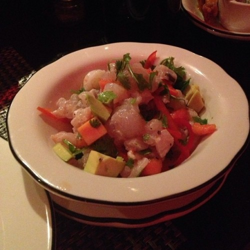 Ceviche @mgfd_mia style #easter #dinner #miami #2013  #march  #designdistrict #305 @thecypressroom @the_cycling_chef