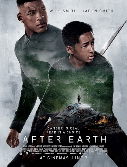 Free After Earth Poster in the latest Total Film Magazine - Issue 207!