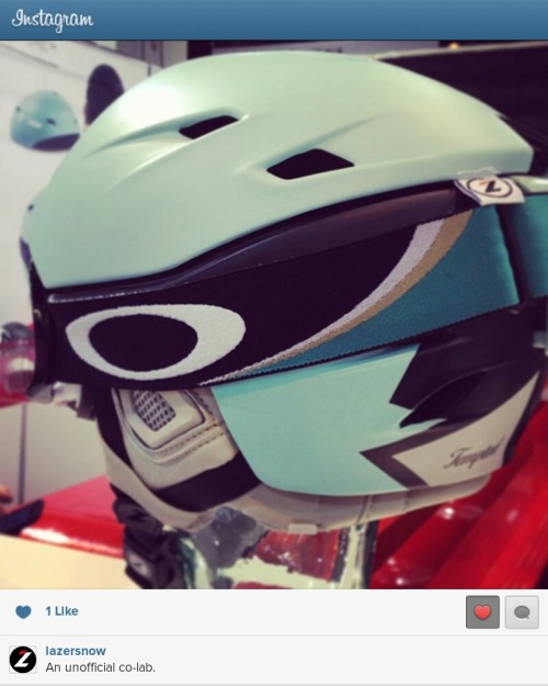 Follow Lazer Snow Helmets on Instagram!  http://instagram.com/p/WLE7ehkVzs/