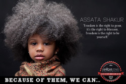 kindreadace:  Let's Get Free! Hands off Assata!