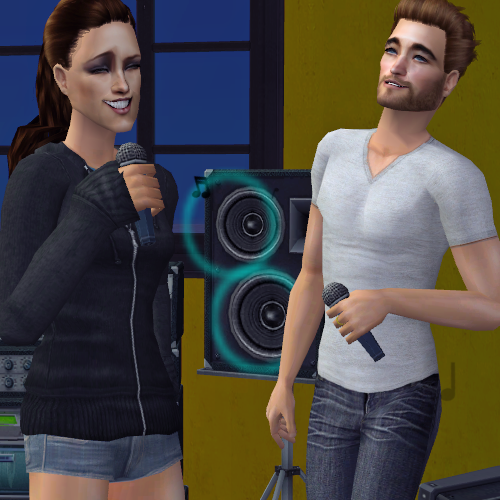 "Rob Pattinson & Kristen Stewart Buy Karaoke Machine ""Now they have karaoke parties at their home in the Los Feliz neighbourhood of Los Angeles with all their friends. They go on until the early hours - even after a night out they head back to Rob and Kristen's for a good old late-night sing-along."""