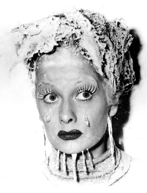 mariedeflor:  Lucille Ball for the I Love Lucy episode The Freezer, 1952