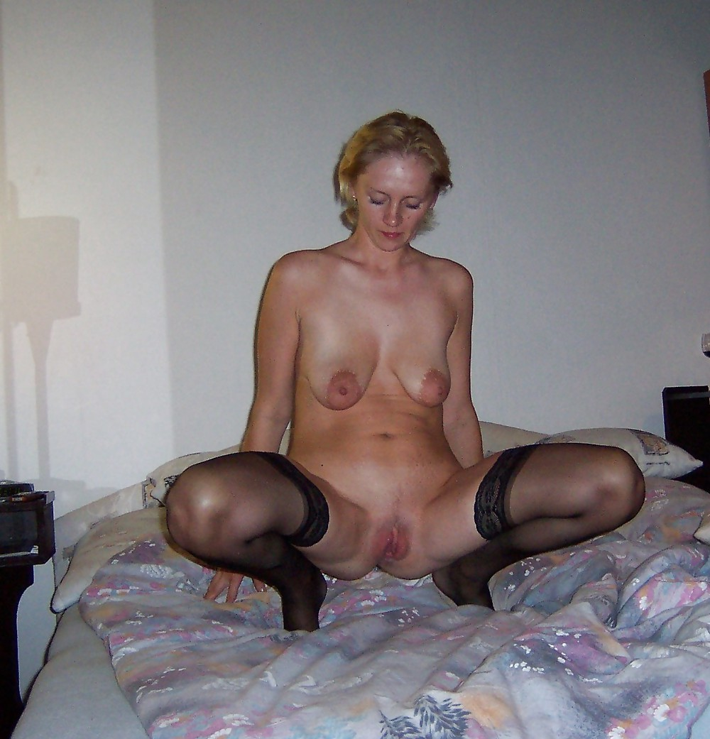 Anja german slut with big saggy tits milf picture