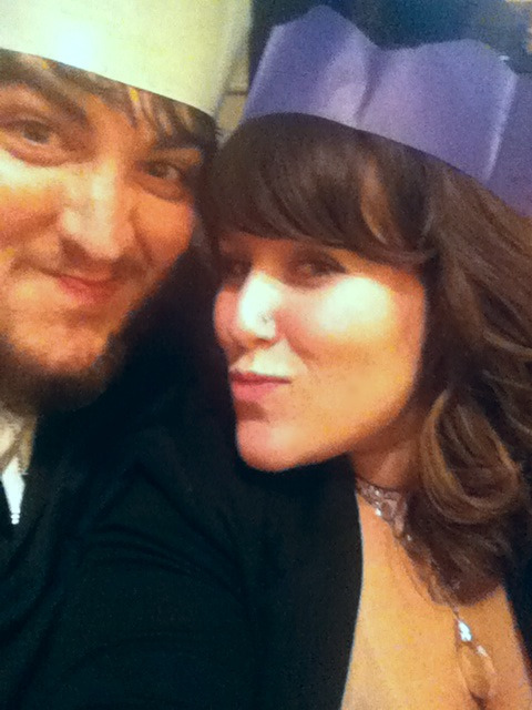 My hubby and I on Christmas.