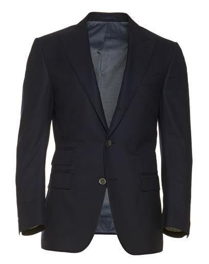 Long live the classic navy blazer.