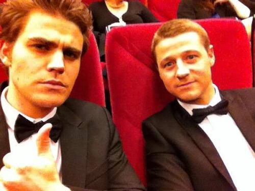 @paulwesley: On a romantic date with @ben_mckenzie appropriately seeing the new HBO Liberace film.