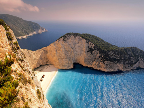 Our Facebook Fans' Favorite Beaches | Shipwreck Bay, Zakynthos, Greece