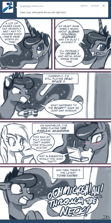 Ask Princess Molestia #288