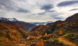photoset snow fav uploads landscape mountains nature Italy autumn valley alpine