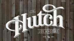 Hutch LA logo (designed by none other than CRYPTIK)
