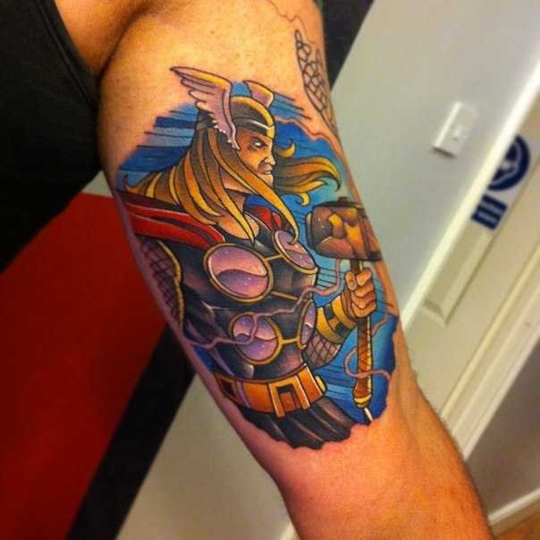 1337tattoos:  Andy Walker