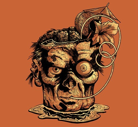 "threadless:  Dead Island Colada by nateomedia is up for scoring in our Dead Island: Riptide design challenge! There is only one day left to score, so ""head"" on over and score 50 Dead Island submissions for a chance at 1 of 8 Steam Codes for Dead Island: Riptide!  I have a shirt up for scoring at Threadless."