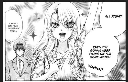 """The story of my life. Image from """"Love Stage!!"""" by Eiki Eiki & Zaou Taishi"""