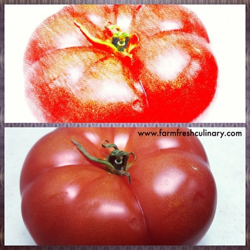 Check out the Beefsteak tomato from Melissa's. enjoy the farm fresh produce & great for burgers….. BOOM  (at Melissa's Produce)