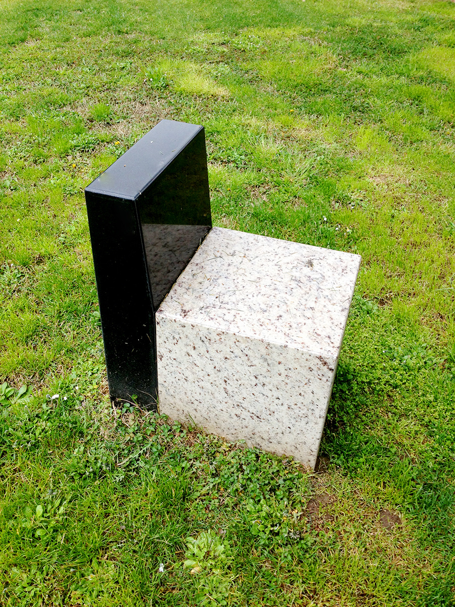 Current obsession: Sassi Nel Parco by Ettore Sottsass, a grouping of 5 marble sculptures/seating elements in the park behind the Triennale di Milano.
