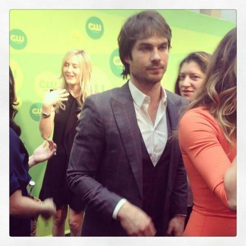 sexylikeian:  Ian Somerhalder at the CW Upfronts.