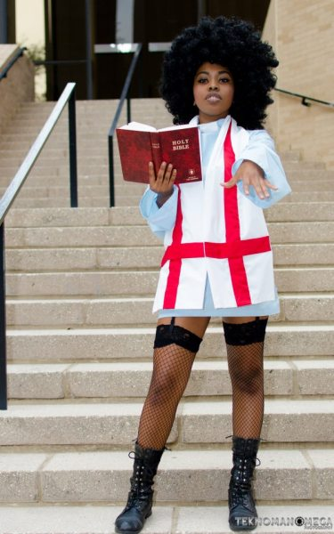 diarrefpuckhookyplay-em-offs:  cosplayingwhileblack:  X Character: Rule 63! Garterbelt Series: Panty and Stocking with Garterbelt  PERF
