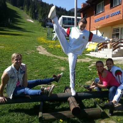 Good morning from Borovetz :)) #fun #bulgaria #borovetz #aerobic #gymnastics