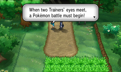 pokemon-xy-news:  Trainer Battles