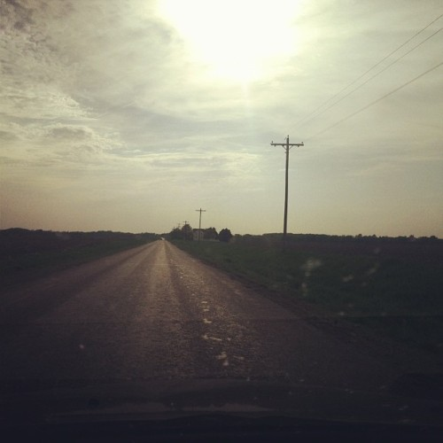 It's a country road driving with the windows down kinda day!