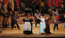 Angela Renee Simpson, Ashley Brown, Alyson Cambridge, SHOW BOAT - c. Robert Kusel/Lyric Opera of Chicago