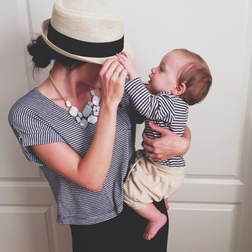 meggielynne:  I love me some stripes.