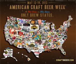 "coloradodaily:  American Craft Beer Week — May 13-17 — celebrates the more than 2,400 small and independent American craft breweries that make the United States the ""world's most diverse brewing destination,"" according to the Brewers Association, the national nonprofit that promotes the week. There will be plenty of glass raising all over Boulder as most local breweries, brewpubs and beer-centered restaurants have events and special tappings planned throughout the week. We got the roundup right here."